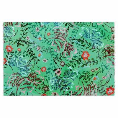 Fernanda Sternieri African Romance Doormat Color: Green