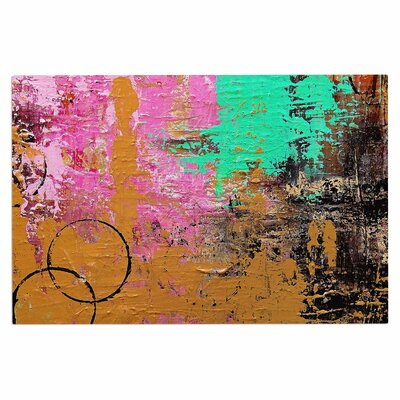 Geordanna Fields Kala II Abstract Doormat