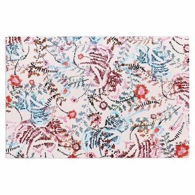 Fernanda Sternieri African Romance Doormat Color: Red/Beige