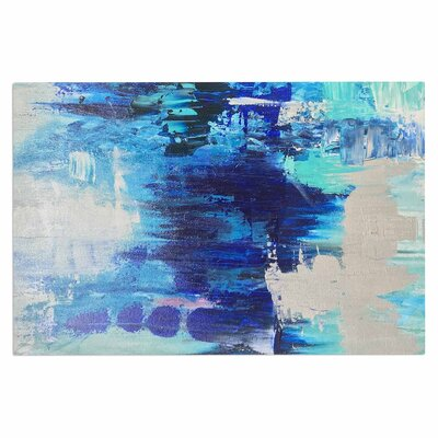 Geordanna Fields Walked on Water Abstract Doormat