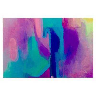 Geordanna Fields Deveraja Abstract Doormat