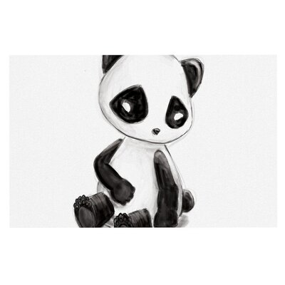Geordanna Cordero Fields My Panda Sketch Doormat