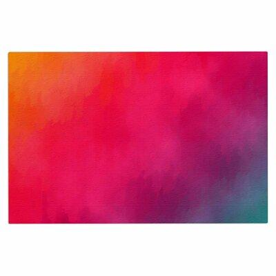 Fotios Pavlopoulos Rainbow Loon Rainbow Abstract Doormat