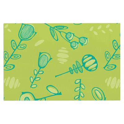 Holly Helgeson Hattie Too Floral Doormat