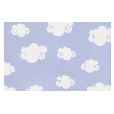 Heidi Jennings Happy Clouds Doormat