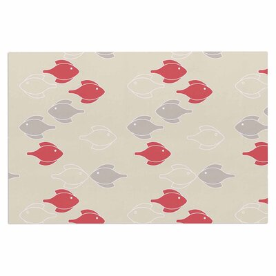 Gukuuki Mayan Fish Doormat