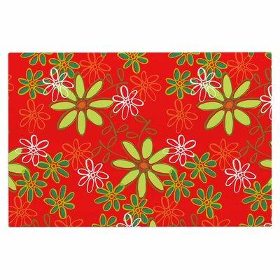 Holly Helgeson Daisy Mae Floral Doormat