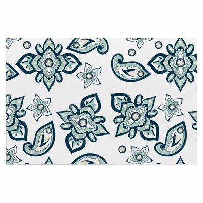 Gukuuki Batik Paisley Doormat