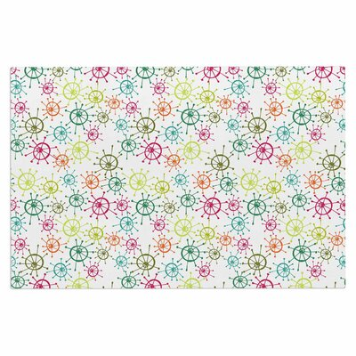 Holly Helgeson Mod Flower Burst Doormat