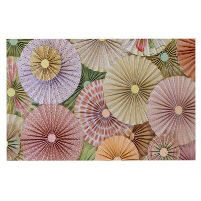Heidi Jennings Spring Pastels Abstract Doormat