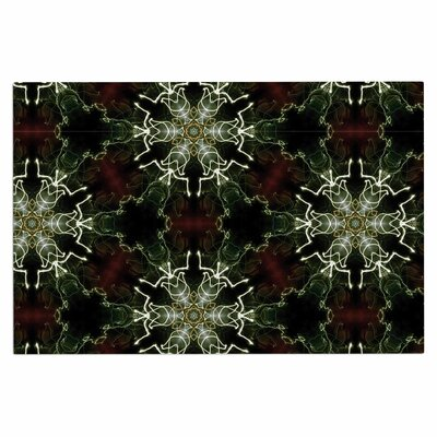 Gukuuki Mandala Lights Abstract Doormat