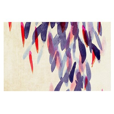 Iris Lehnhardt Abstract Leaves IV Doormat