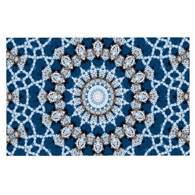Iris Lehnhardt Mandala II Abstract Doormat