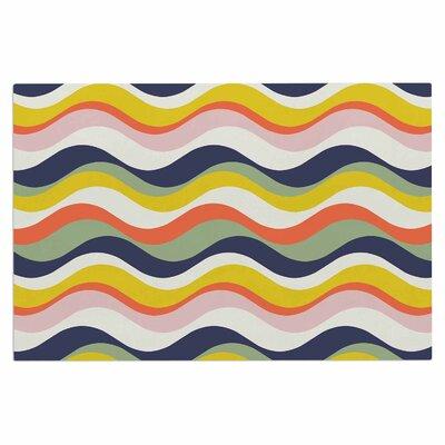 Gukuuki Rainbow Stripes Stripe Doormat