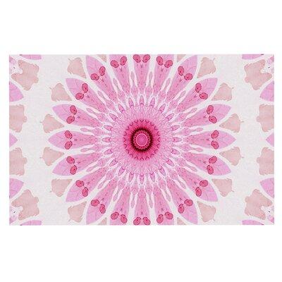 Iris Lehnhardt Flower Power Abstract Doormat