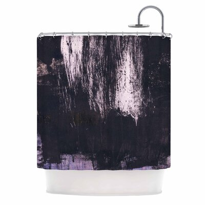 Iris Lehnhardt Brushstrokes 1 Abstract Shower Curtain