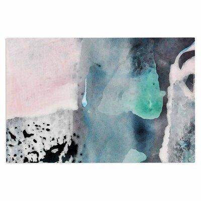 Iris Lehnhardt Abstract Color Pastel Painting Doormat