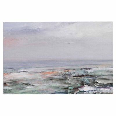 Iris Lehnhardt Coastal Scenery Pastel Abstract Doormat