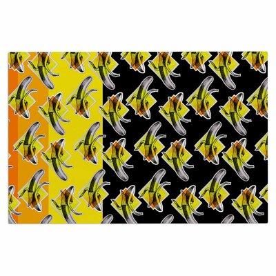 Ivan Joh Bananas Painting Doormat