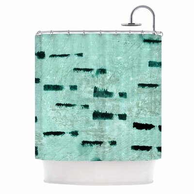 Iris Lehnhardt Texture and Pattern Abstract Shower Curtain