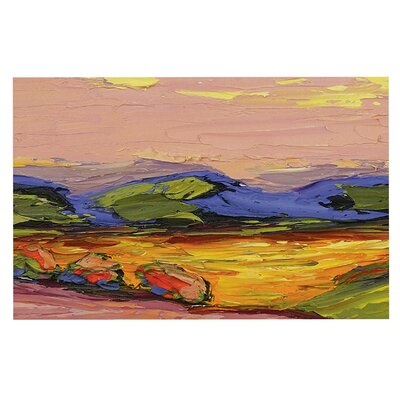 Jeff Ferst Pastoral View Painting Doormat