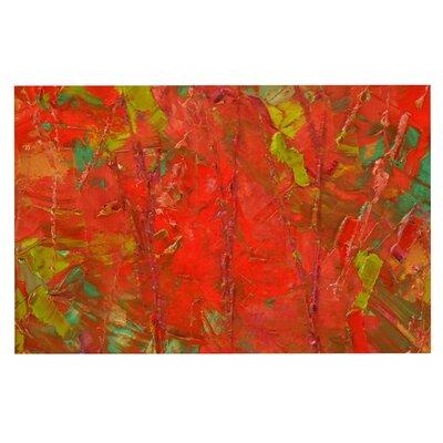 Jeff Ferst Crimson Forest Doormat
