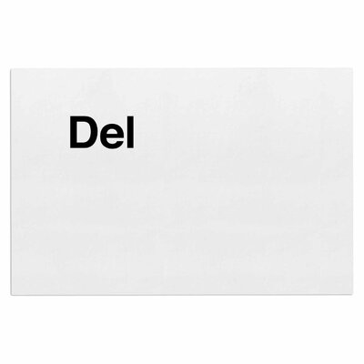 Jackie Rose Delete Doormat