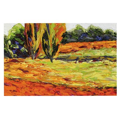 Jeff Ferst Summer Breeze Foliage Doormat