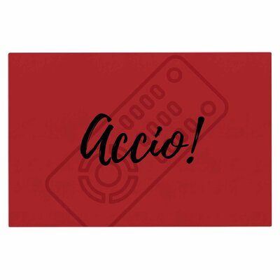 Jackie Rose Accio! Remote Illustration Doormat
