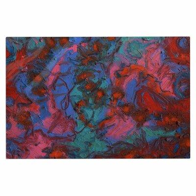 Jeff Ferst Koi Pond Painting Doormat