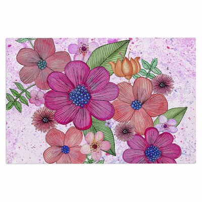 Julia Grifol My Garden in Floral Doormat
