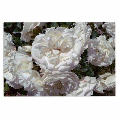 Julia Grifol Flores Blancas Nature Doormat