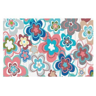 Jolene Heckman A Marsala Morning Floral Doormat