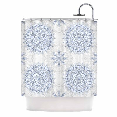Julia Grifol Mandalas in Shower Curtain