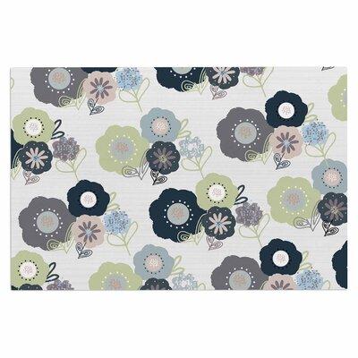 Jolene Heckman Floral Bunches Doormat
