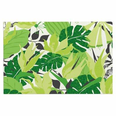 Jacqueline Milton Tropicana Lime Doormat