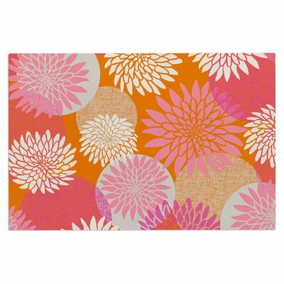 Jacqueline Milton Flower Power Illustration Doormat
