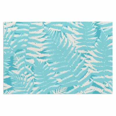 Jacqueline Milton Fun Fern Citrus Doormat Color: Orange/Gold
