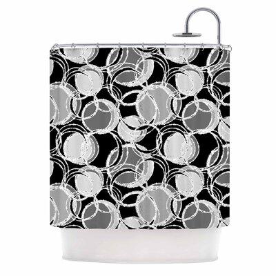 Julia Grifol Simple Circles Shower Curtain