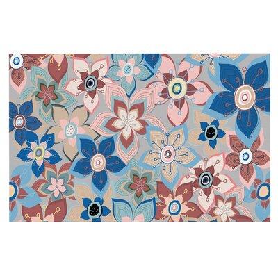 Jolene Heckman Marsala Floral Mix Doormat
