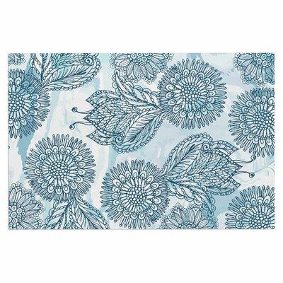 Julia Grifol Garden Floral Vector Doormat