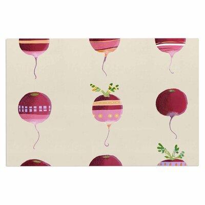 Judith Loske Happy Radishes Ped Doormat