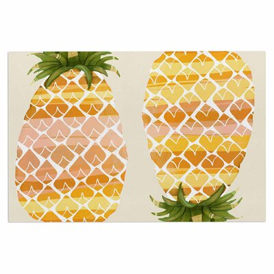Judith Loske Happy Pineapples Doormat