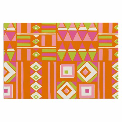 Jacqueline Milton Heatwave Hot Illustration Doormat