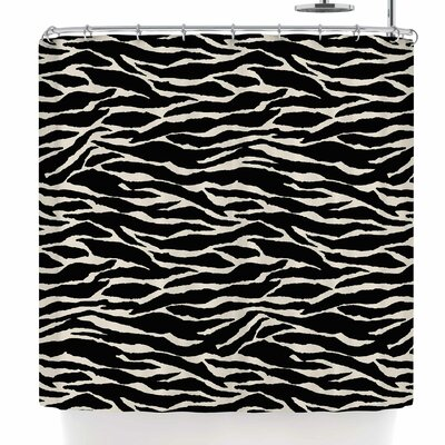 Jacqueline Milton Safari Shower Curtain