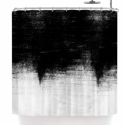 Iris Lehnhardt Black and White Shower Curtain