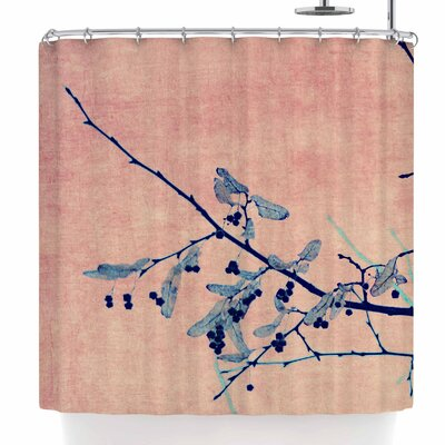 ingrid Beddoes Sweetgum Tree Shower Curtain