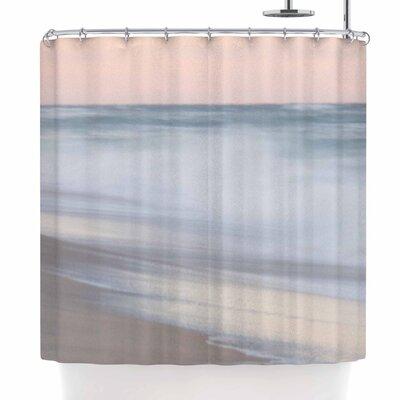 Horizon Studio Sea Coastal Photography Shower Curtain