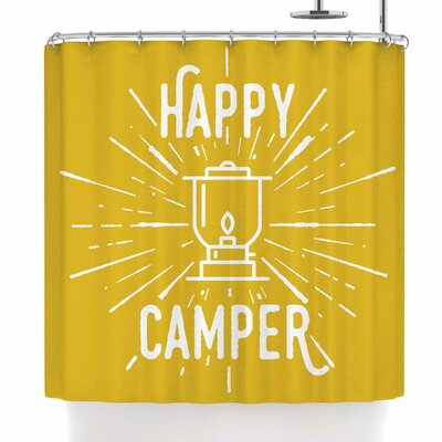 Jackie Rose Happy Camper Shower Curtain