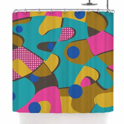 Jacqueline Milton Free-Form Shower Curtain